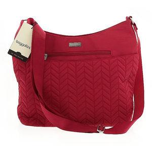 NWT NEW Baggallini red crossbody handbag purse bag